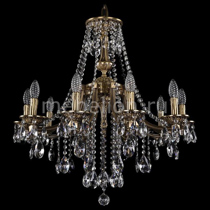Подвесная люстра Bohemia Ivele Crystal 1771/10/220/B/FP 1771