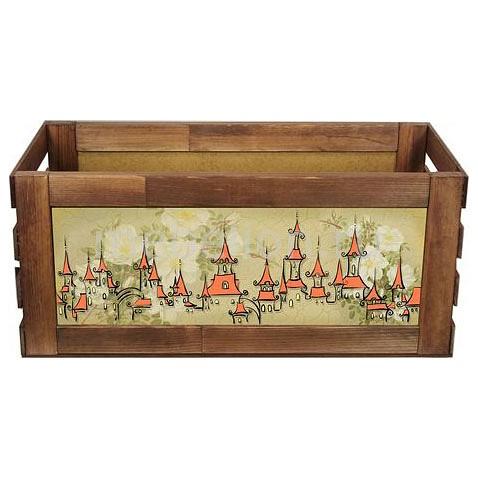Ящик для хранения Акита Домики 840