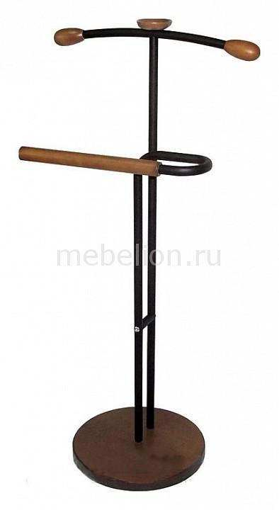 Вешалка для костюма Галант 336 черный/средне-коричневый