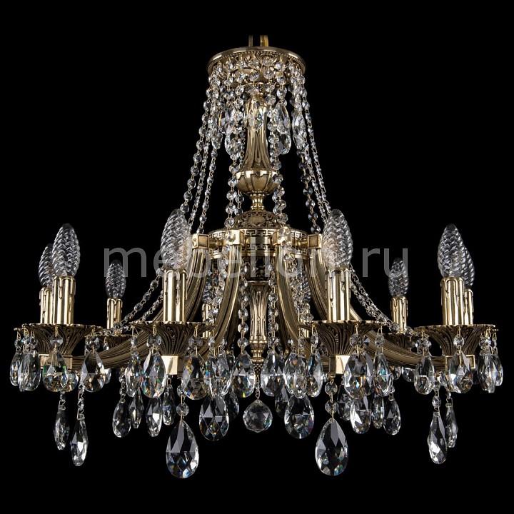 Подвесная люстра Bohemia Ivele Crystal 1771/10/190/A/GB 1771