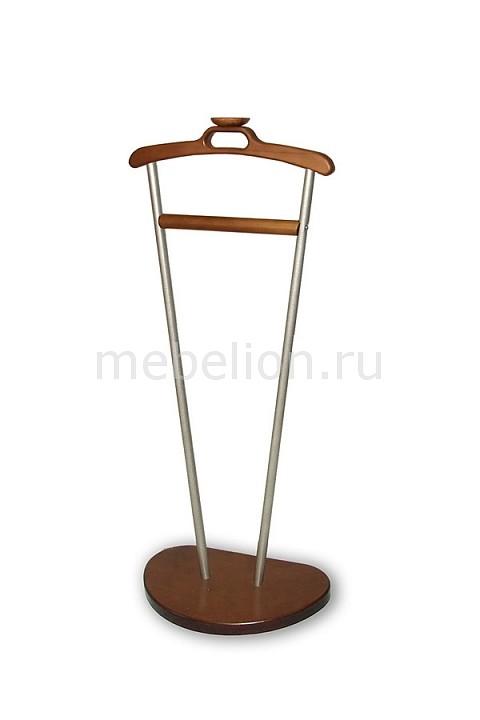 Вешалка для костюма Декарт Д-9 металлик/средне-коричневый