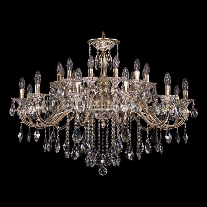 Подвесная люстра Bohemia Ivele Crystal 1703/24/360/B/GW 1703