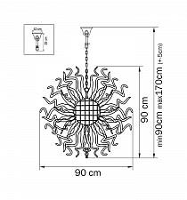 Подвесной светильник Lightstar 890031 Medusa