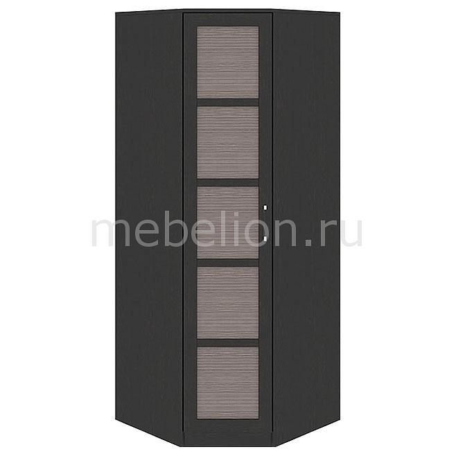 Шкаф платяной угловой Мебель Трия Токио СМ-131.09.001 венге цаво/венге цаво/каналы дуба мебель трия стэн венге цаво венге цаво зеркальный page 3