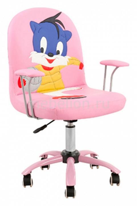 Кресло компьютерное CJ-29 розовое mebelion.ru 3710.000