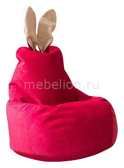 Кресло-мешок Dreambag Зайчик Малиновое