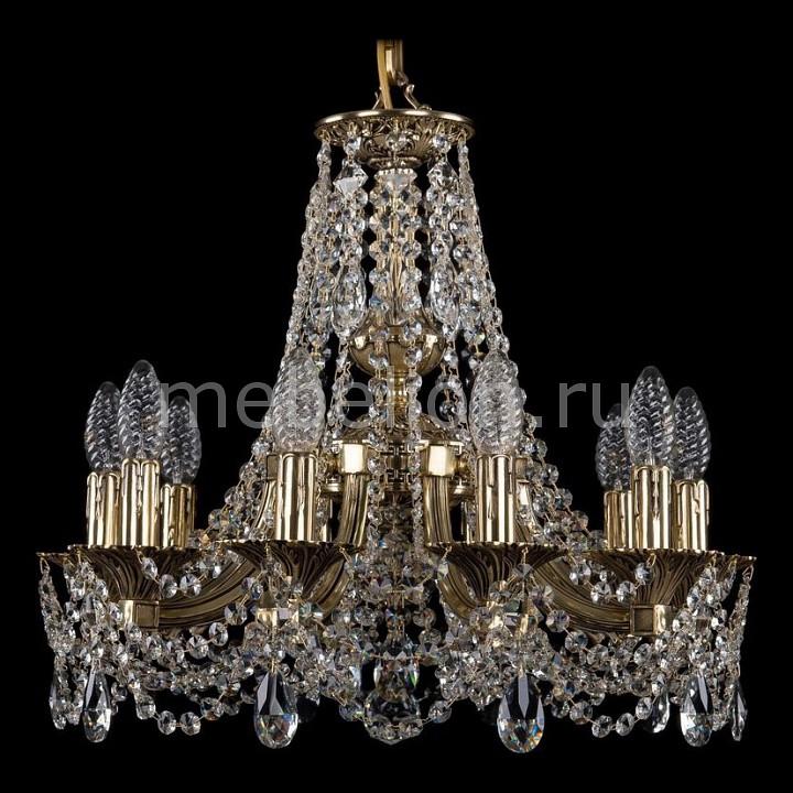 Подвесная люстра Bohemia Ivele Crystal 1771/10/150/C/GB 1771