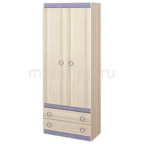 Шкаф платяной Индиго ПМ-145.10 ясень коимбра/навигатор