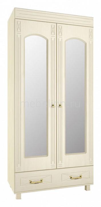 Шкаф платяной Компасс-мебель Элизабет ЭМ-16 шкаф витрина компасс мебель элизабет эм 4