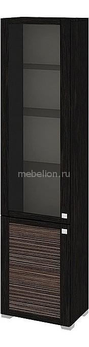 Шкаф-витрина Фиджи ШК(07)_32-21_18 венге цаво/каналы дуба