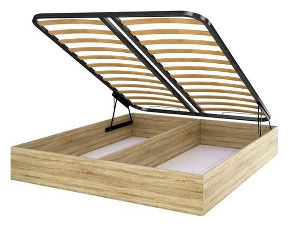 Короб для кровати СТЛ.138.06 и ортопедическое основание с подъемным механизмом