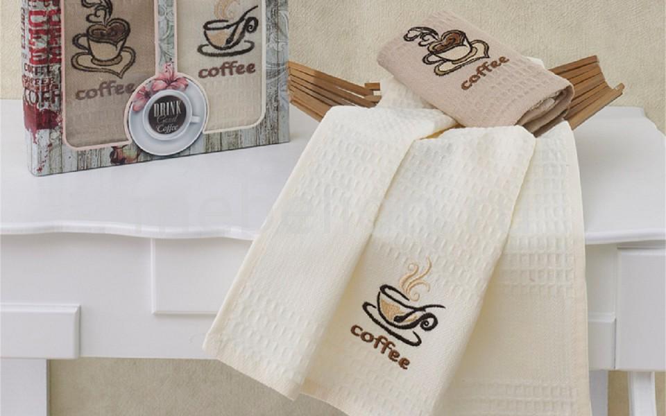 Набор из 2 полотенец для кухни SUPREMO COFFEE