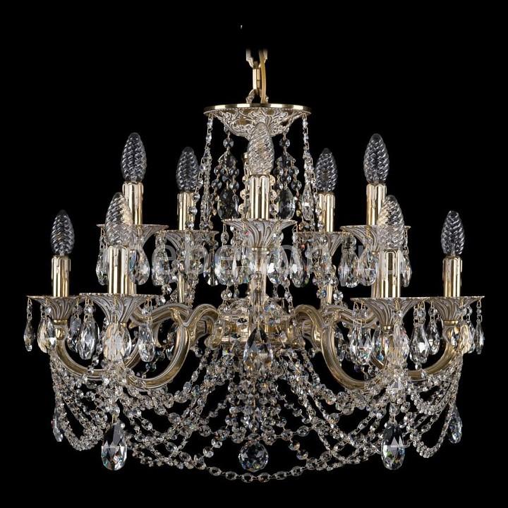 Подвесная люстра Bohemia Ivele Crystal 1702/5+5/265+110/C/GW 1702