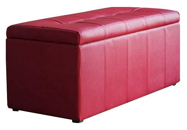 Банкетка-сундук Dreambag Лонг красная пуф dreambag лонг коричневая кожа