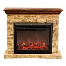 Электрокамин напольный Real Flame (113х34х97 см) Halton Castle 00000003814
