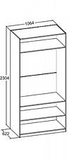 Шкаф платяной Александрия 625050.000