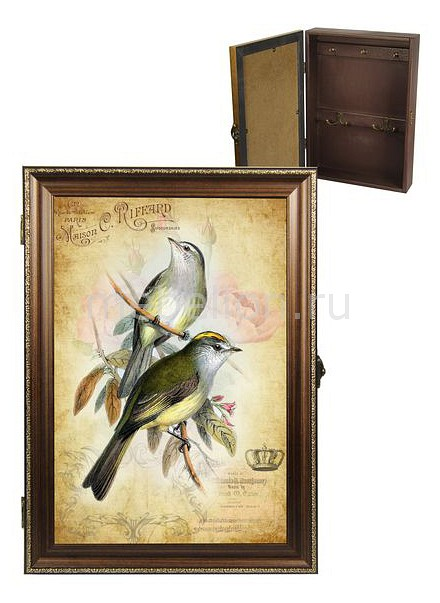 Ключница Акита (24х34 см) Винтаж 312-23 akita