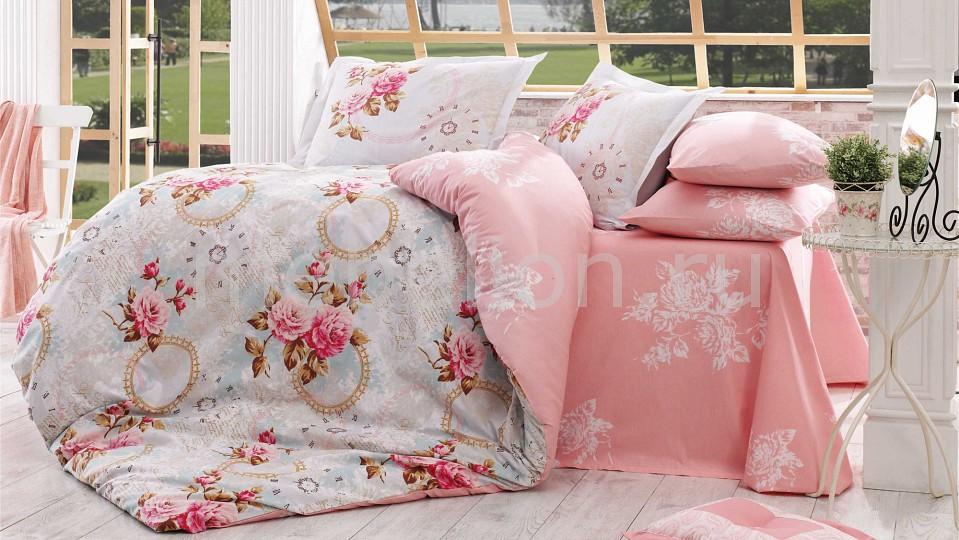 Комплект полутораспальный HOBBY Home Collection CLEMENTINA постельное белье hobby home collection кпб 1 5 сп евро поплин clementina св розовый