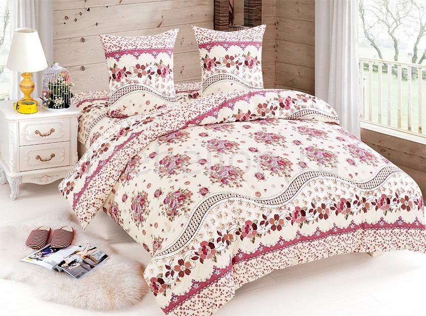 Комплект полутораспальный Amore Mio Ava skiny advantage cotton 2 шт в упаковке трусики хипстер кремовый розовый