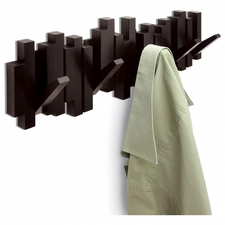 Вешалка настенная Umbra (51х18 см) Sticks 318211-213 roomble latitude flex shelf set 213