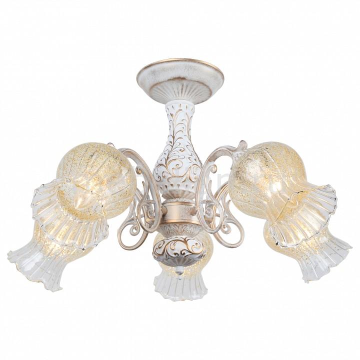 Люстра на штанге Arte Lamp Gemma A6336PL-5WG  arte lamp gemma a6336pl 5wg