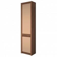 Шкаф для белья Камелия-4 ясень шимо темный/капучино