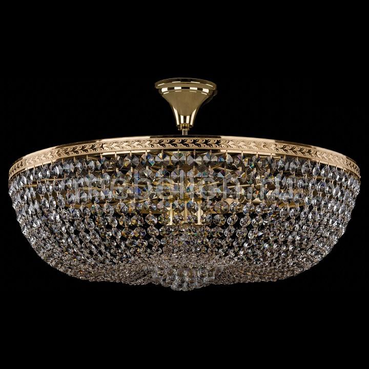 Люстра на штанге Bohemia Ivele Crystal 1928/75/Z/G 1928