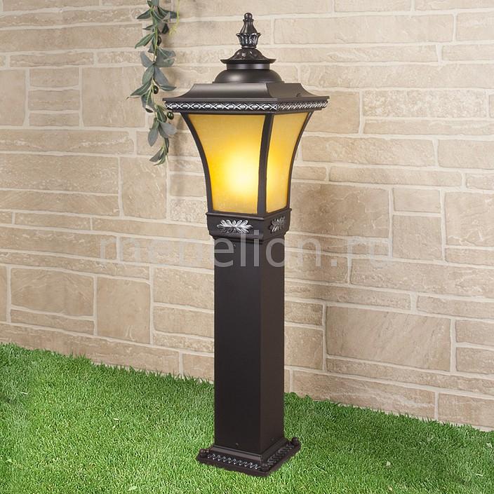 Наземный низкий светильник Elektrostandard Libra F венге (арт. LXT-1408F) elektrostandard светильник на столбе elektrostandard taurus f 3 малахит арт glxt 1458f 3 4690389065057
