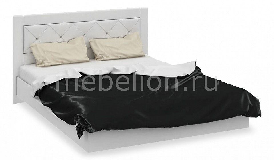 Кровать двуспальная Амели СМ-193.01.005-М