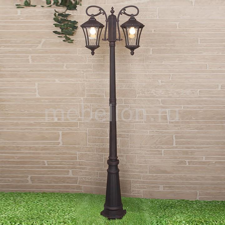 Фонарный столб Elektrostandard Virgo F/2 капучино (арт. GLXT-1450F/2) садовый светильник elektrostandard taurus f малахит арт glxt 1458f