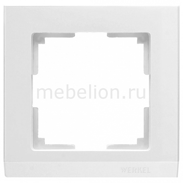 Рамка на 1 пост Werkel Stark WL04-Frame-01-white vstarcam c7850wip 720p wireless outdoor ip camera white