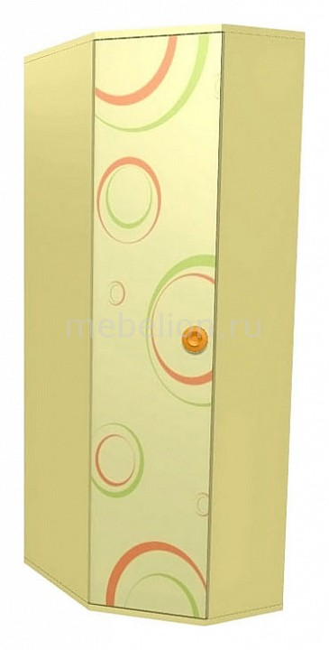 Шкаф платяной Фруттис 503.060 желтый/лайм/манго