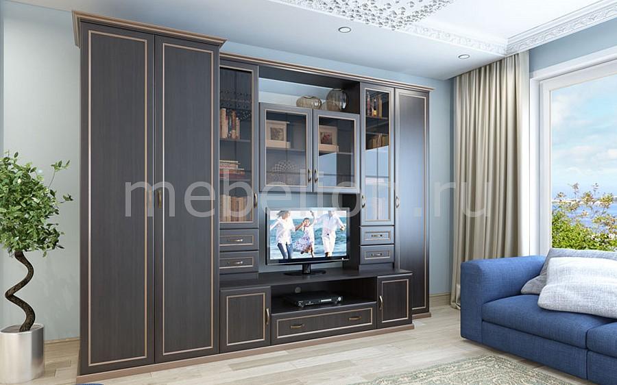 Стенка для гостиной Марина СТЛ.096.00 левая дуб честерфилд mebelion.ru 34600.000