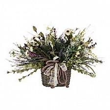 Растение в горшке АРТИ-М (50х40 см) С ромашками 309-520