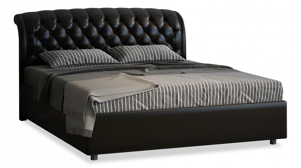 Кровать двуспальная с матрасом и подъемным механизмом Venezia 180-190