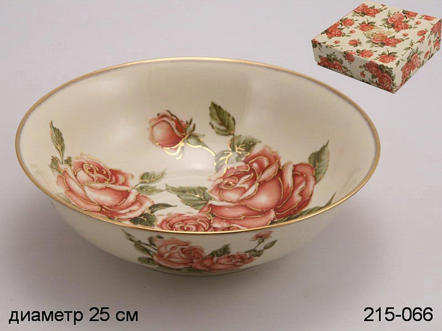 Салатник Hangzhou jinding import and export co. ltd. Корейская роза 215-066 корейская косметика для глаз