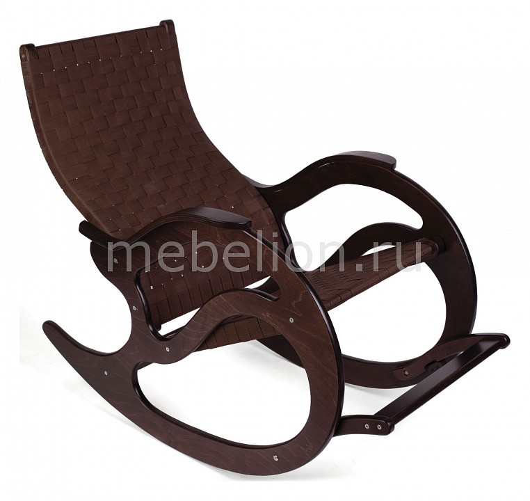 Кресло-качалка Мебелик Тенария 2 кресло качалка мебелик тенария 1 замша бежевый каркас темно коричневый