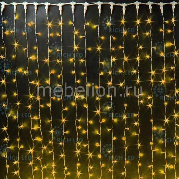 цены Занавес световой (2x6 м) RichLED RL-C2*6-CB/Y