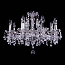 Подвесная люстра Bohemia Ivele Crystal 1410/8/195/Ni/0300 1410