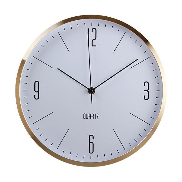 Настенные часы Sheffilton(30 см) 853858Артикул - She_853858,Бренд - Sheffilton (Россия),Серия - 8538,Диаметр, мм - 300,Материал - аллюминий, полимер,Цвет - белый, золотой,Тип поверхности - матовый,Необходимые компоненты - 1 батарейка АА<br><br>Артикул: She_853858<br>Бренд: Sheffilton (Россия)<br>Серия: 8538<br>Диаметр, мм: 300<br>Материал: аллюминий, полимер<br>Цвет: белый, золотой<br>Тип поверхности: матовый<br>Необходимые компоненты: 1 батарейка АА
