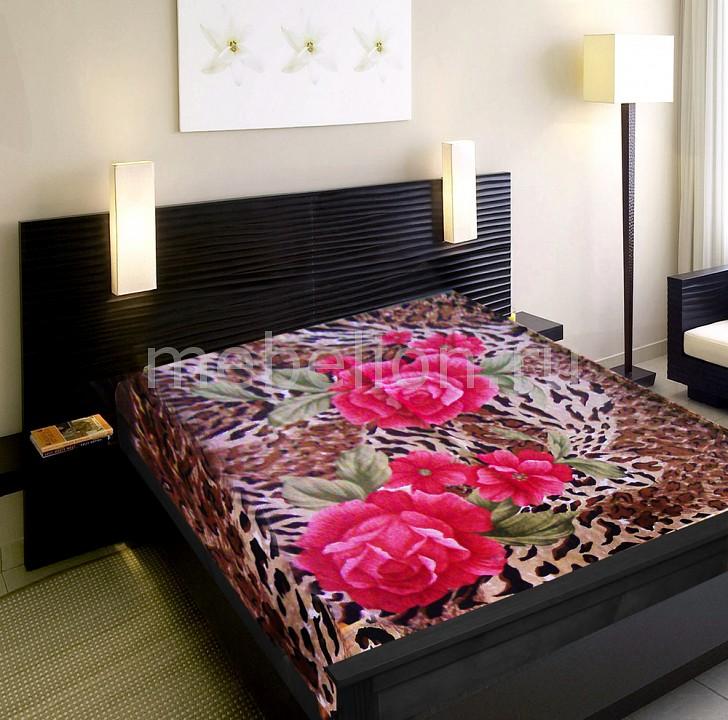 Плед TexRepublic (180х220 см) Розы на шкуре плед texrepublic absolute цветы 150 х 200 см 83773