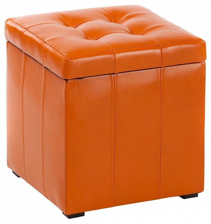 Пуф ПФ-2 оранжевый mebelion.ru 2890.000
