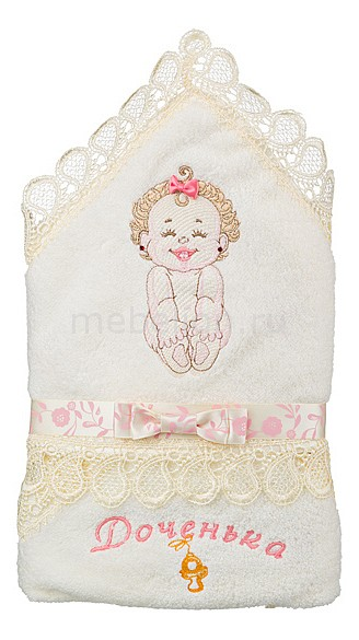 Полотенце детское АРТИ-М (70х70 см) Дочка полотенце для кухни арти м незабудки