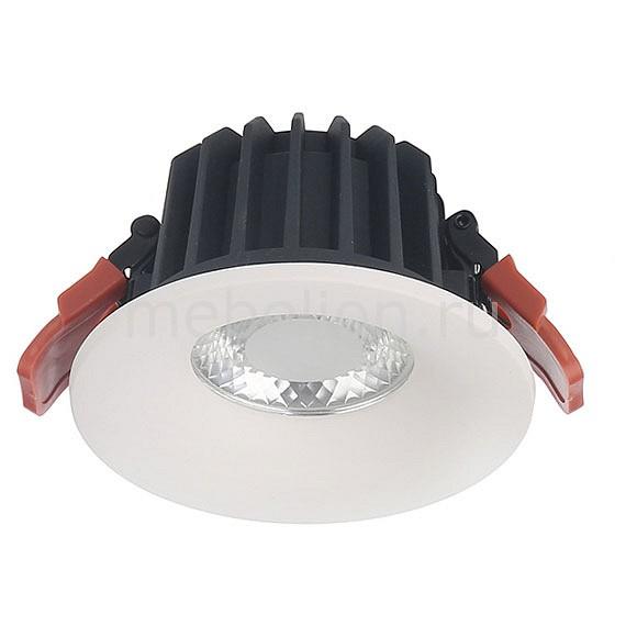 Встраиваемый светильник Donolux DL18838/9W White R Dim 4000K modern fashion creative k9 crystal wifi design led 9w wall lamp for living room bedroom aisle corridor bathroom 80 265v 2063