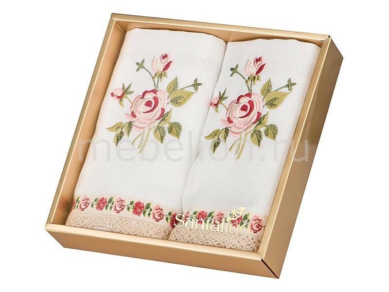 Салфетка АРТИ-М Набор из 2 салфеток (42х42 см) Корейская роза арти м 42х42 см ария 850 723 2