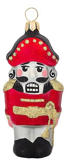 Елочная игрушка (10 см) Щелкунчик 860-146