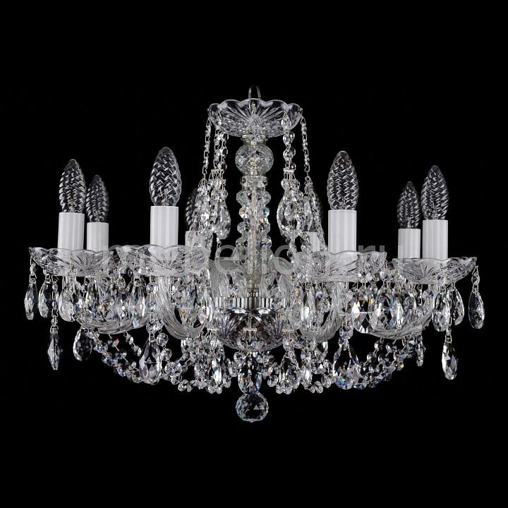 Подвесная люстра Bohemia Ivele Crystal 1406/8/195/Ni 1406