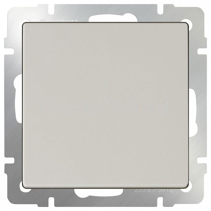 Выключатель проходной одноклавишный без рамки Werkel Слоновая кость WL03-SW-1G-2W-ivory бра colosseo susanna 80311 2w