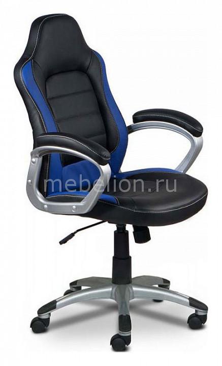 Кресло компьютерное Бюрократ Бюрократ CH-825S/Black+Bl черный/синий компьютерное кресло бюрократ ch 829 bl black black black