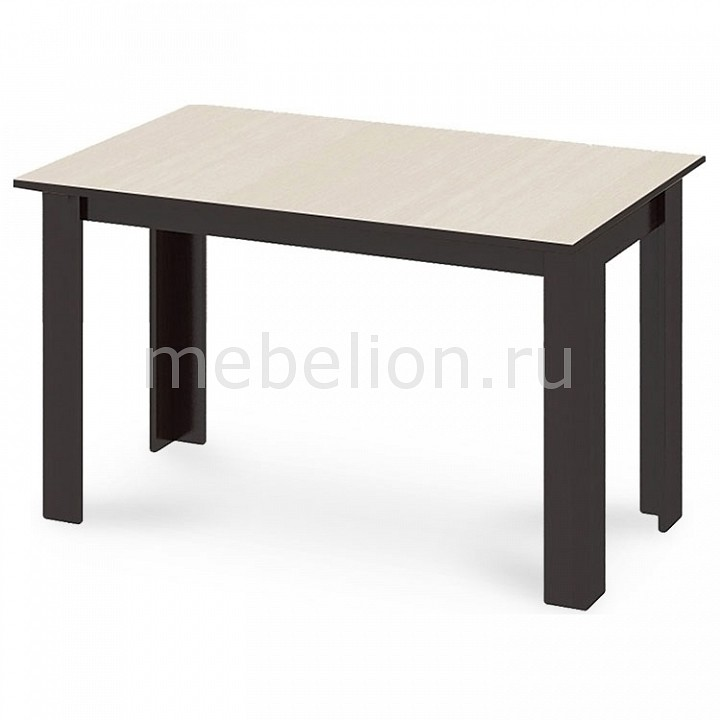 Стол обеденный Мебель Трия Кантри Т1 венге/дуб молочный мебель трия табурет кантри т1 венге темно коричневый